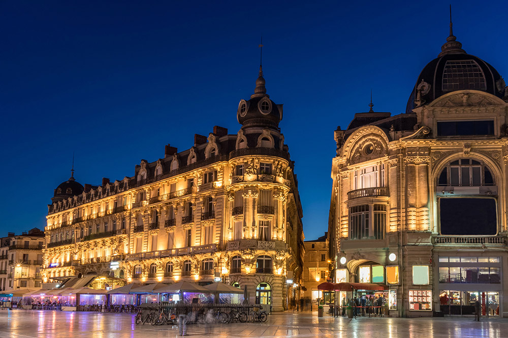 Montpellier historic centre